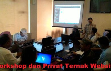 Workshop dan Privat Beternak Website